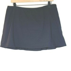 Liz Claiborne Black Swimsuit Bottom Skirt Size 18W